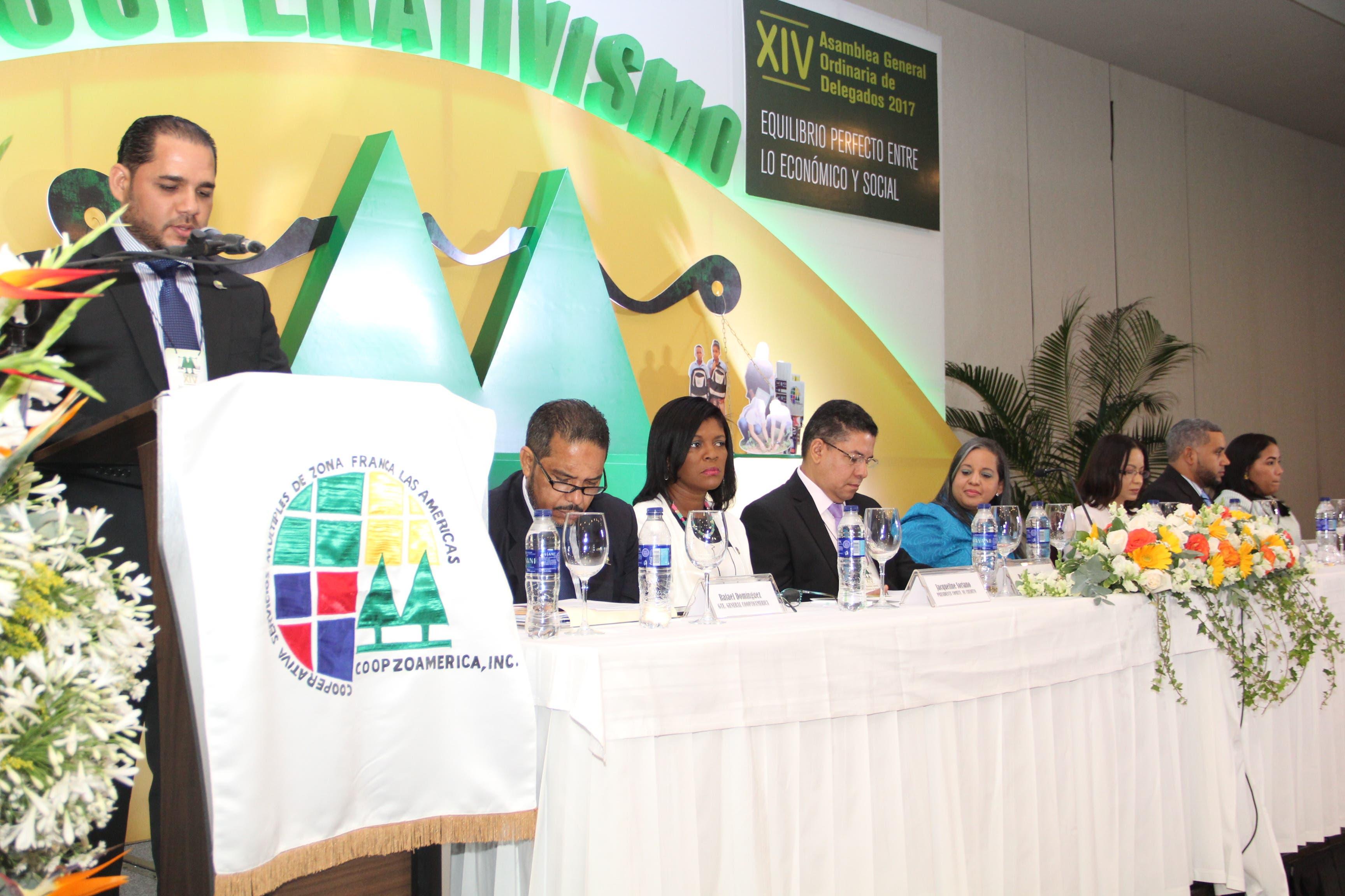 Consejo de Administración de Coopzoamérica durante XIV Asamblea Ordinaria.