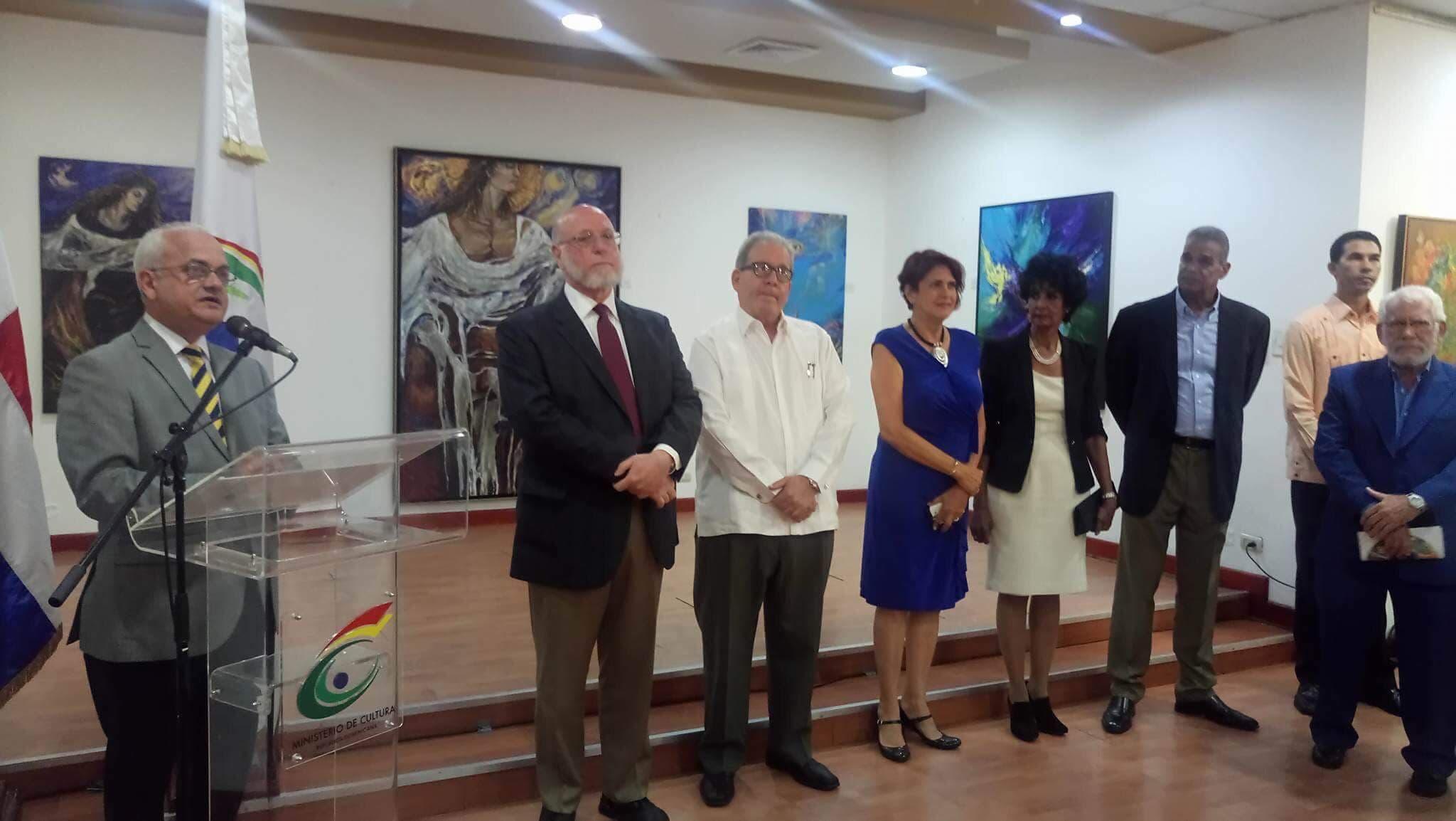 Ministerio de Cultura relanza Sala de Arte Ramón Oviedo