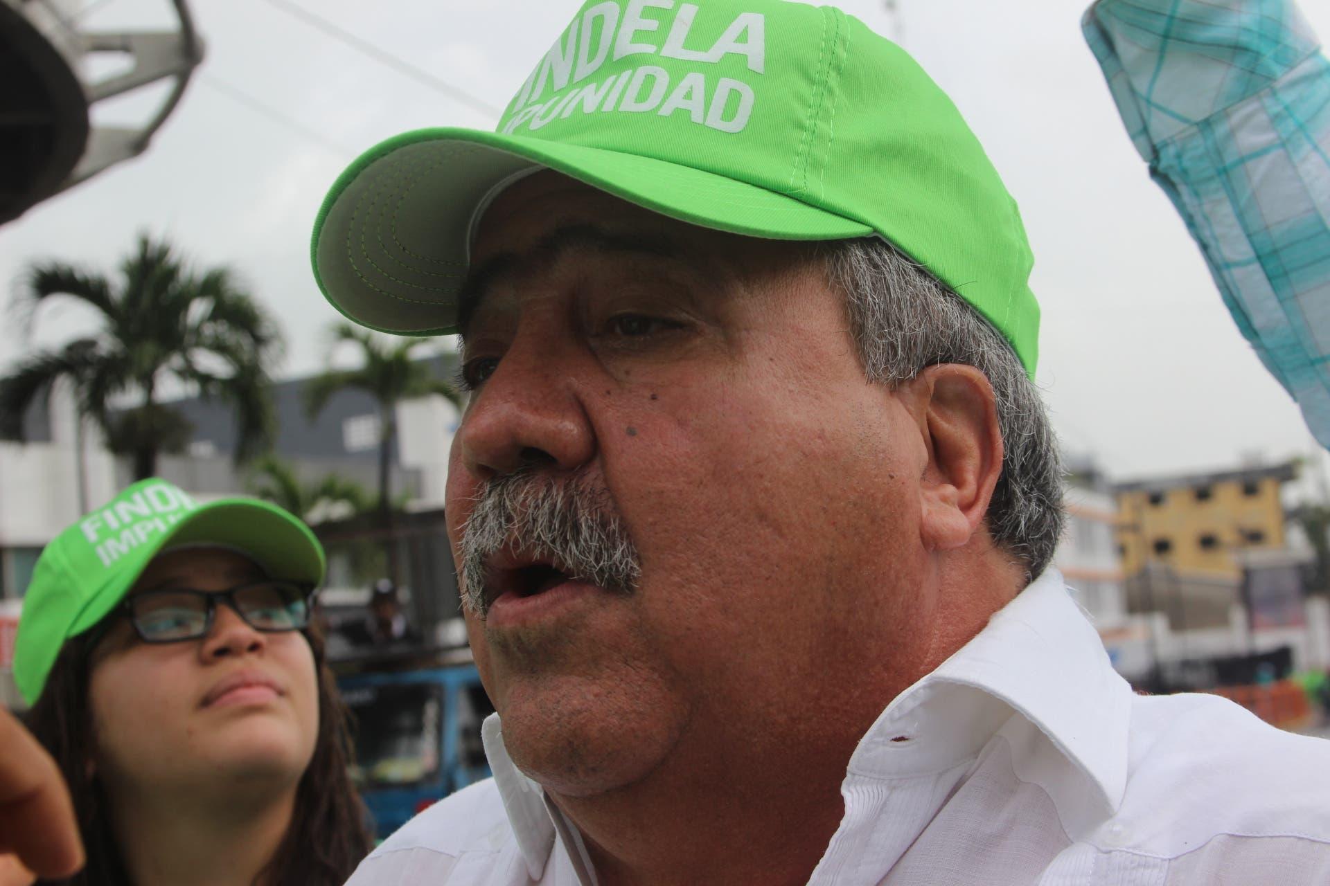 Tonty Rutinel pide a Miguel Vargas unirse a combatir la corrupción junto a Marcha Verde