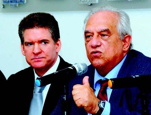 José Alfredo Corripio y Fernando Morales Billini.