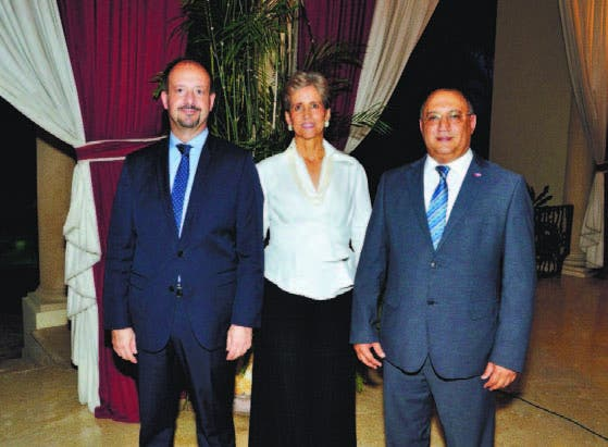 José Gómez, Ginny Heinsen y Omar Ramírez Tejada