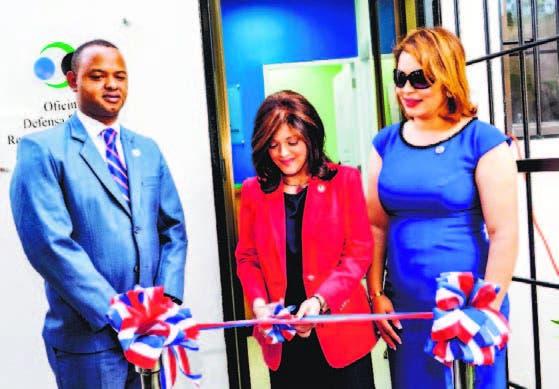 La doctora Laura Hernández Román encabezó la inauguración