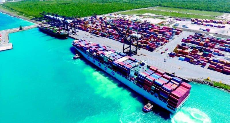 La llegada de este buque posiciona al Puerto Multimodal Caucedo como el de mayor productividad y eficiencia de la región