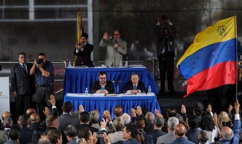 Parlamento de Venezuela nombra 33 magistrados