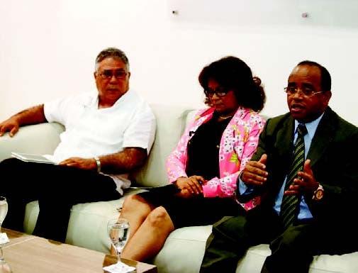 Roque Félix, Francisca Peguero y Fulgencio Severino
