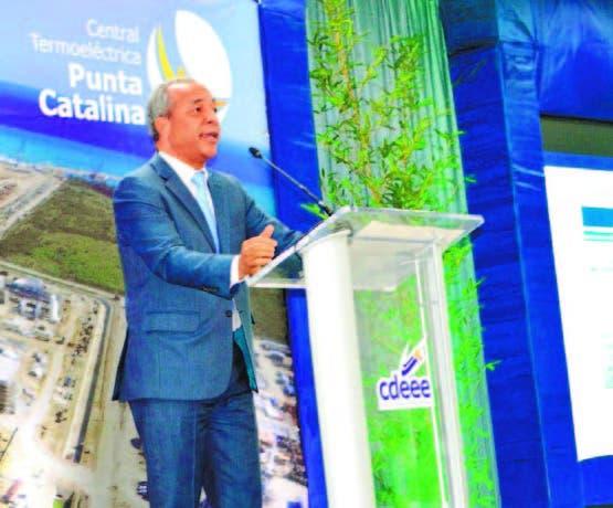 Bichara dice  Punta Catalina garantiza  energía  en el  Norte