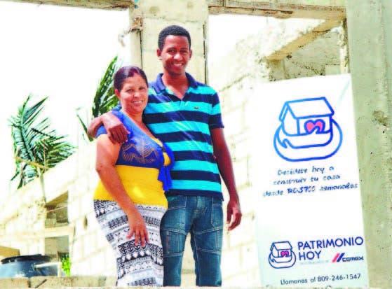 Una de las familias beneficiadas por el programa Patrimonio Hoy
