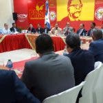 (foto) Vista de la reunion celebrada en la sede del PRSC
