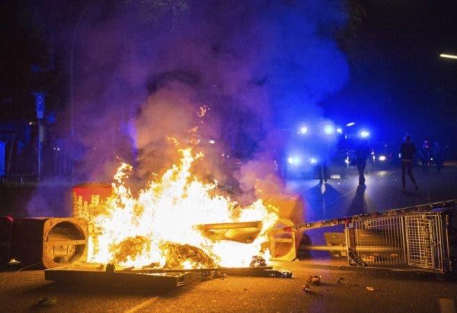 Hamburgo sufrió tres noches de episodios violentos dentro de las protestas antiglobalización .