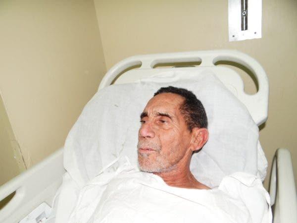 Fabio Augusto Peña Domínguez de 65 años de edad, quien falleció y fue abandonado por sus familiares.