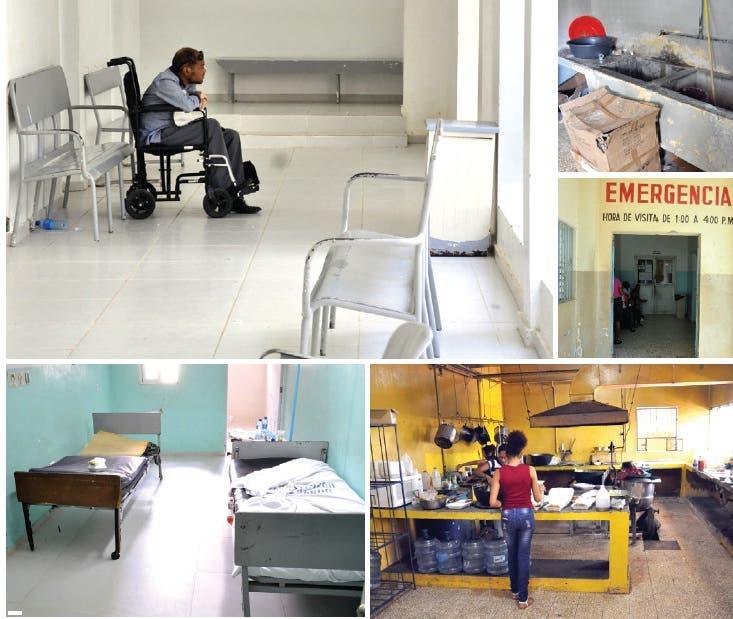 La lenta reparación hospital de Monte Cristi dificulta servicios