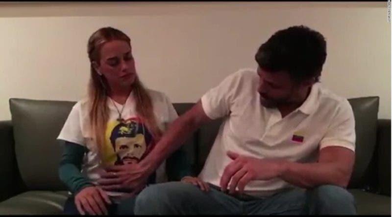 El video que grabó Leopoldo López antes de volver a la cárcel