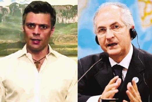 Opositor Leopoldo López anuncia el embarazo de su esposa Lilian Tintori