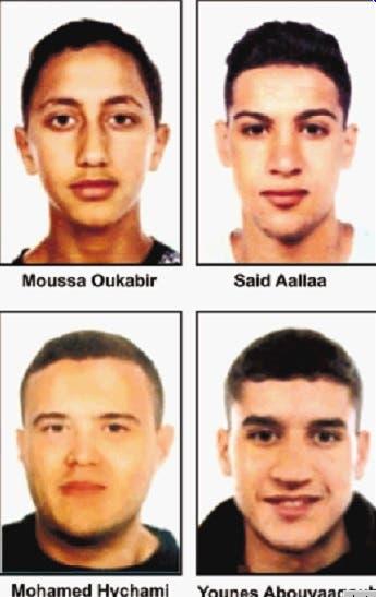 Policía afirma 12 personas actuaron ataques España