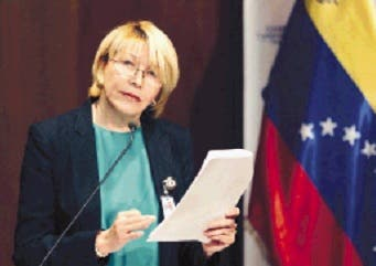 Destituida fiscal Venezuela y esposo huyen Colombia