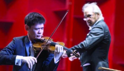 Antológico segundo concierto temporada sinfónica con Angelo Xian