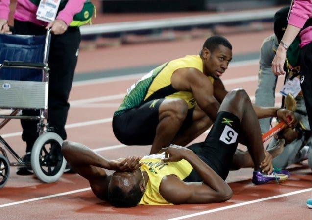 Bolt se despide del Mundial de atletismo en Londres con una magra cosecha/AP