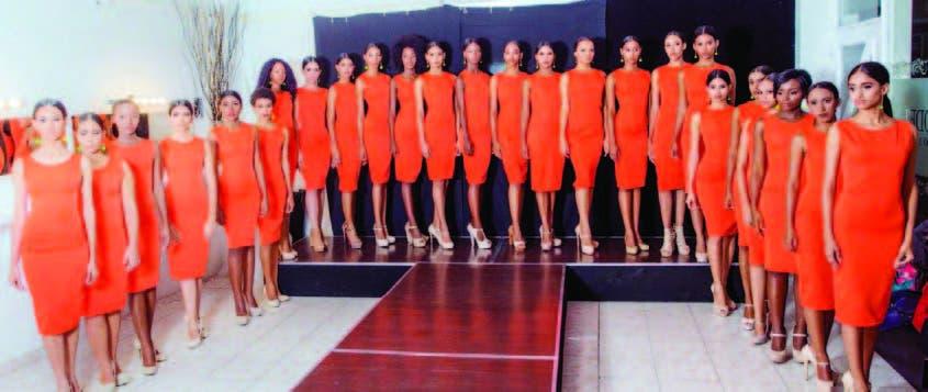 Presentan candidatas de Dominican Top Model