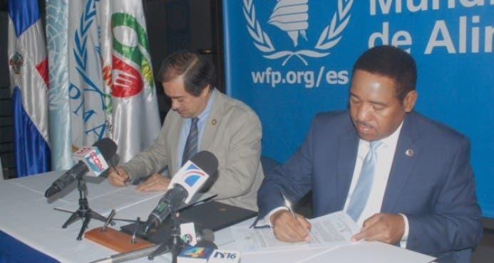 Comedores Económicos y el Programa Mundial de Alimentos firman acuerdo de cooperación