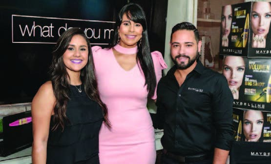 Daniela Castillo Marlene Mendieta y Jaime Martínez.