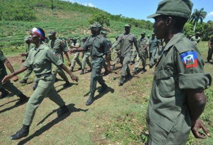 Senador cree  Ejército de Haití sería perturbador