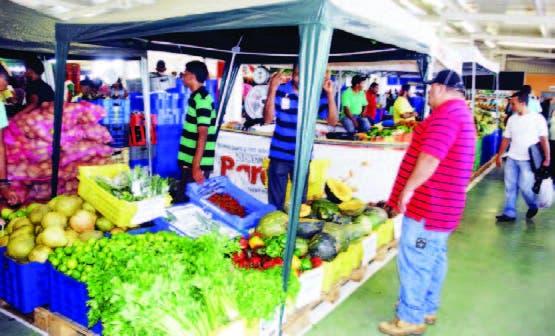 El Mercado Santo Domingo funciona en el kilómetro 22 de la