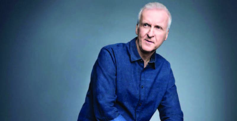 El director, guionista y productor de cine James Cameron