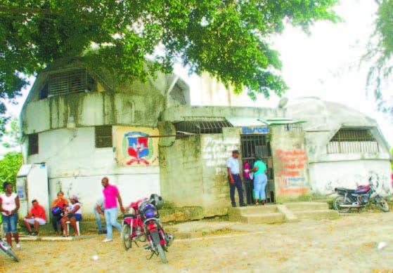 En antigua capilla funciona la cárcel San Luis, en Santo Domingo Este
