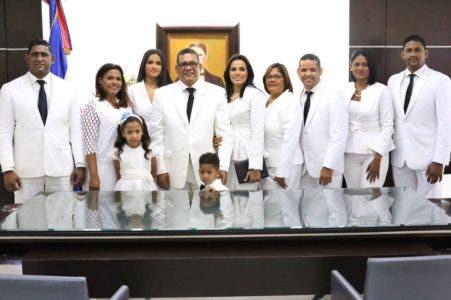 Rubén Maldonado simpático y feliz al convertirse en el nuevo presidente de la Cámara de Diputados