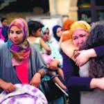 Familiares de atacantes y miembros de comunidad musulmana