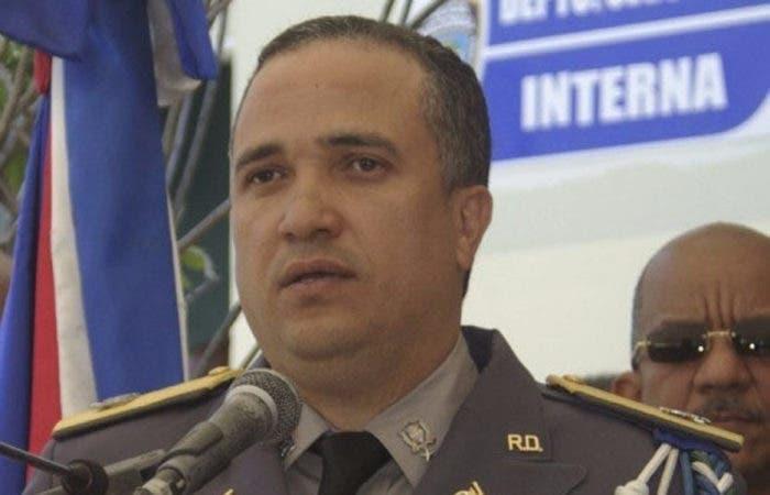 General Ney Aldrin de Jesús Bautista Almonte nuevo director de la Policía Nacional. Fuente Externa