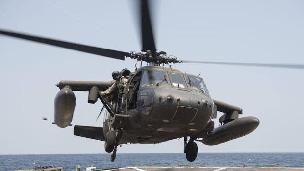 Helicóptero militar de EEUU se estrella al sur de Yemen