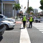 INTRANT levanta uso de señales de transito verticales y horizontales, Churchill con Gustavo Mejia Ricart (1)