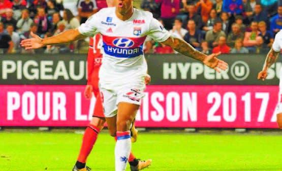 Mariano Díaz, el dominicano que triunfa en la Liga de Francia.