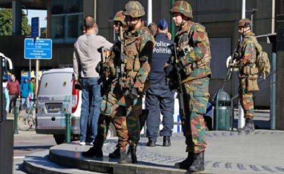 El atancante fue neutralizado por otros militares/Foto: Fuente externa.