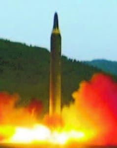 Misil Corea del Norte en mayo