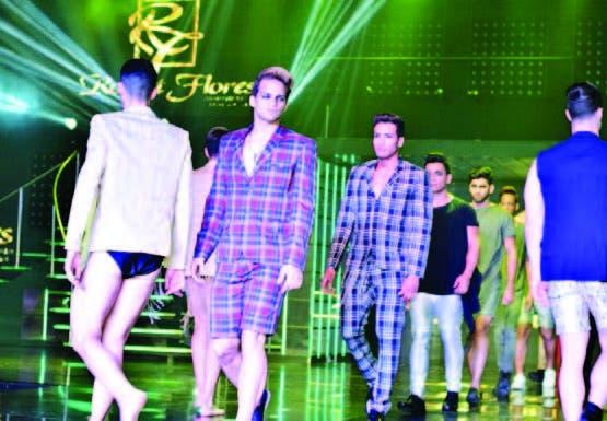 Participaron los modelos del Men's Universe 2017