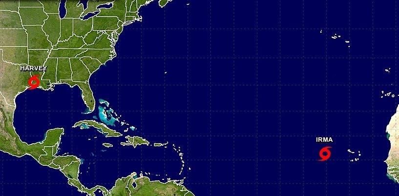 Se forma la tormenta Irma y amenaza con convertirse en huracán rumbo al Caribe
