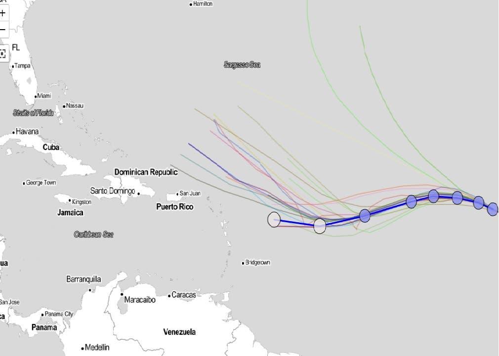Este fin de semana se sabría si huracán Irma afectará a República Dominicana