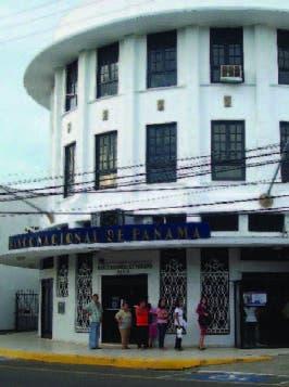 Un banco panameño
