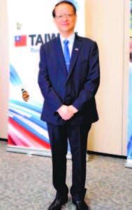 Valentino Tang, embajador de Taiwán en la República Dominicana