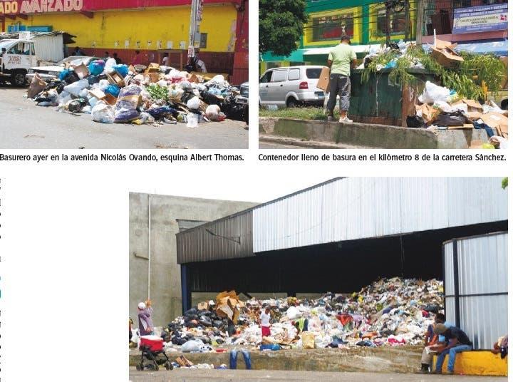 Demora  vertido   en Duquesa provoca basureros  sectores  Distrito Nacional