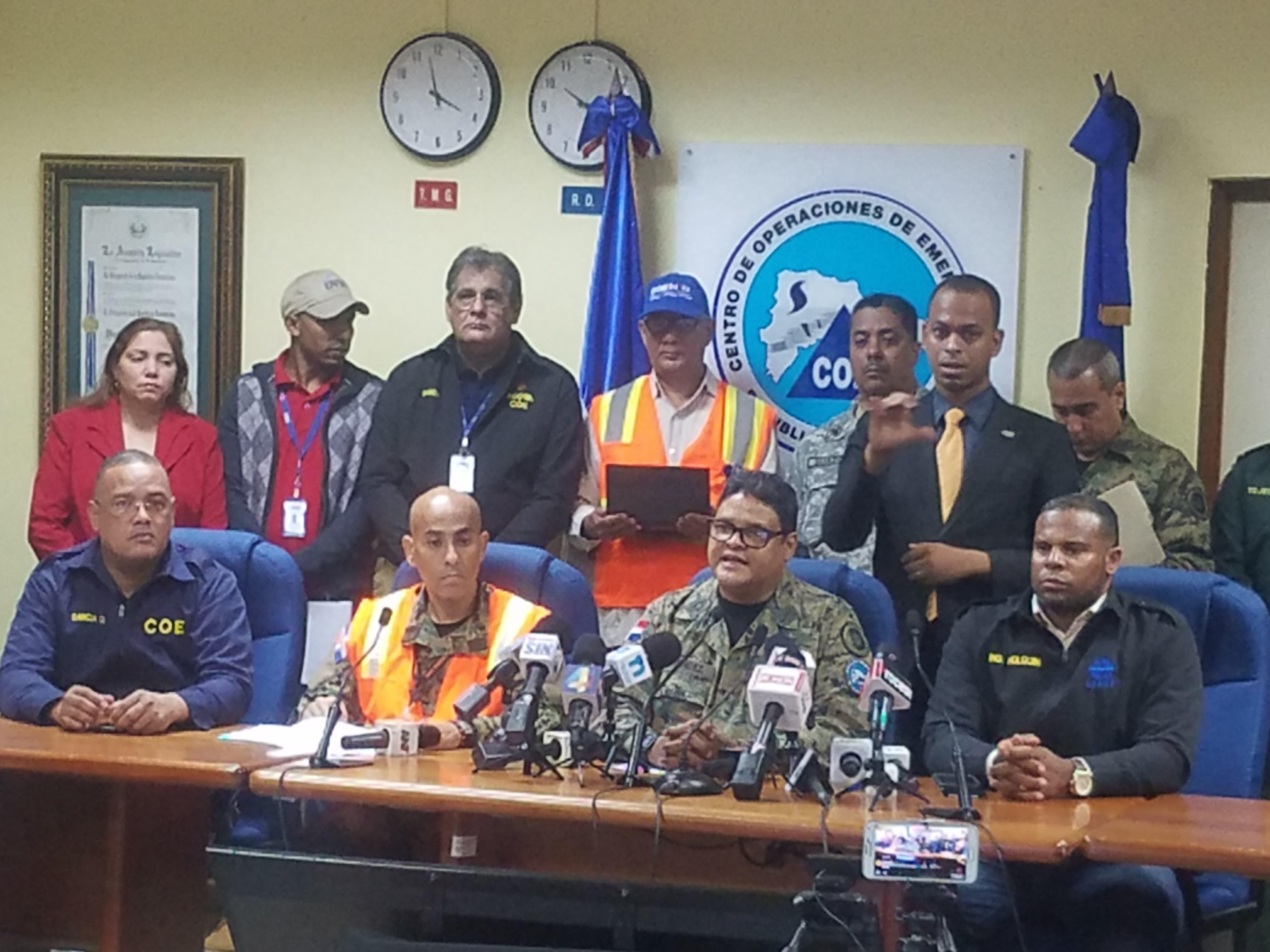 Video: aumentan a 7,371 los desplazados por María; COE mantiene las alertas en todo el país