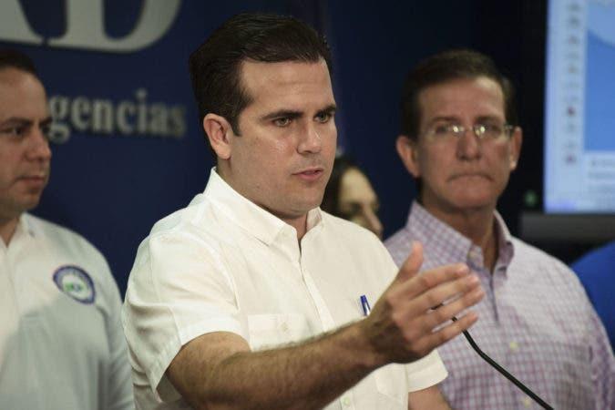 El gobernador boricua, Ricardo Rosselló, pidió al presidente de EE.UU., Donald Trump, que declare la isla zona de desastre.