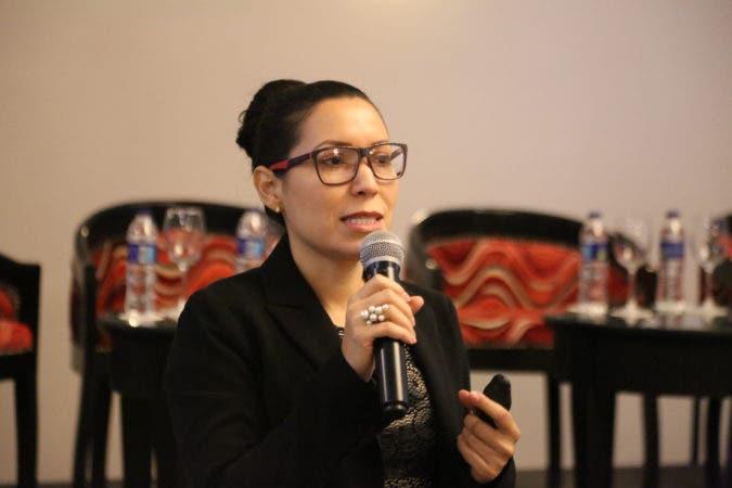 Johana Guerrero, directora de Simplificación de Trámites del MAP