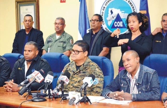 COE reporta 23613 personas fuera de sus viviendas; 58 acueductos afectados