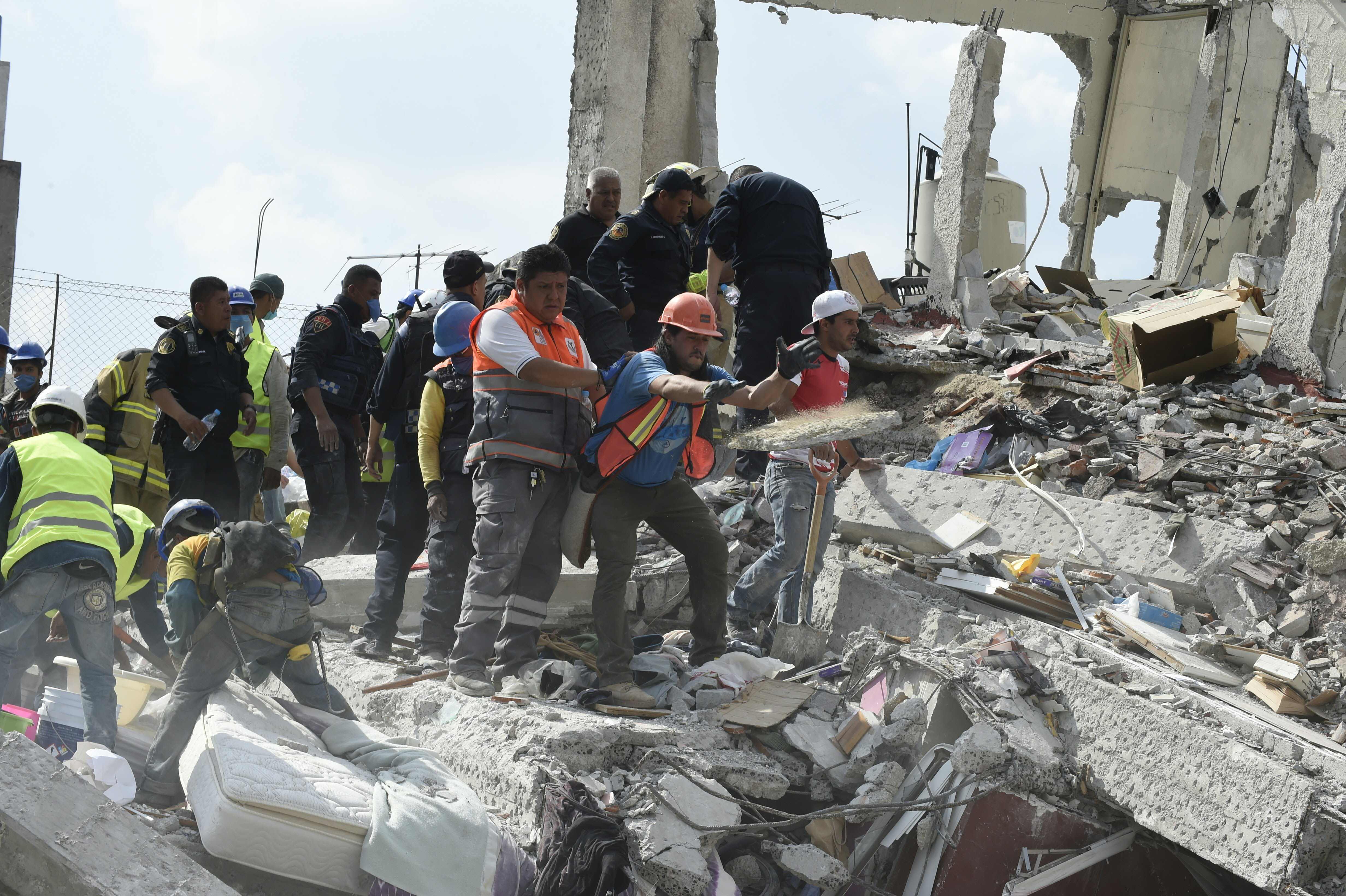 Vea en fotos el terremoto en México que ha dejado al menos 217 muertos