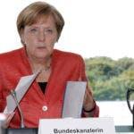 Angela Merkel .