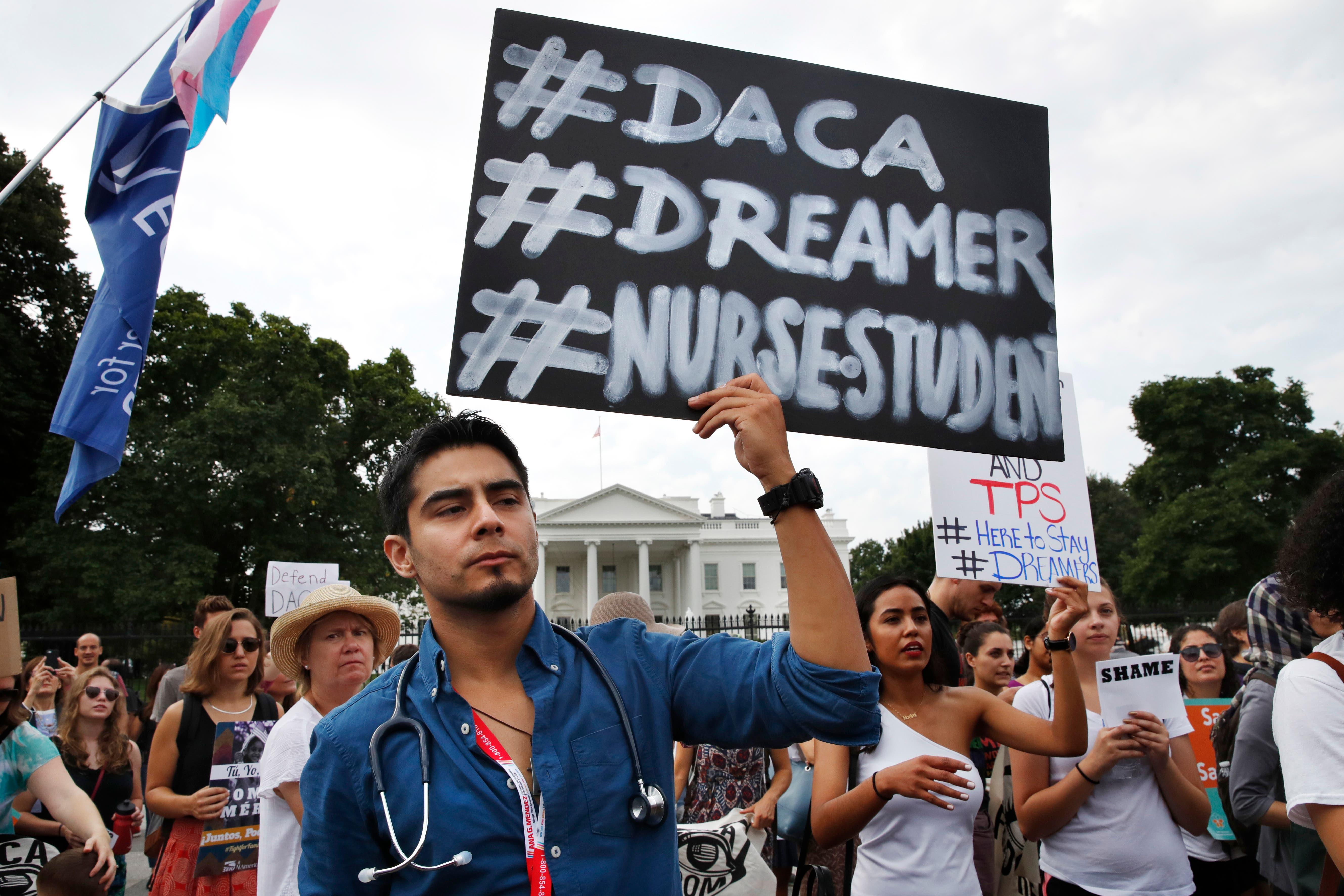 Donald Trump elimina el  plan migratorio DACA