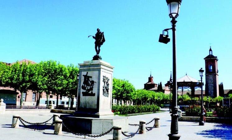 Alcalá es una pequeña ciudad al este de Madrid, pero con una larga historia.